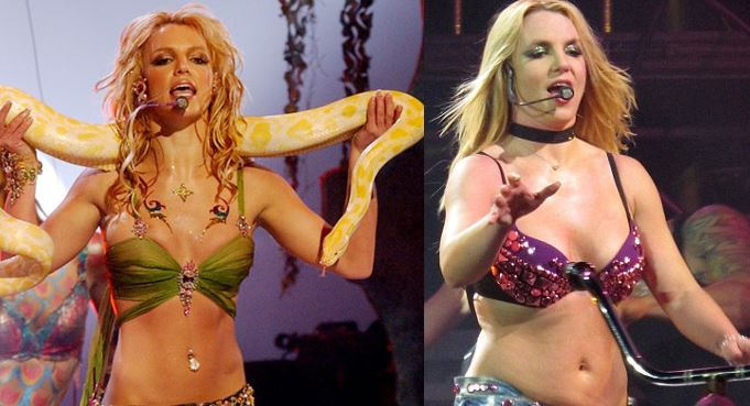 Britney Spears 2001 vs Britney Spears 2009