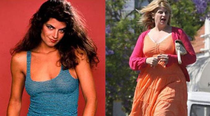 Kirstie Alley 1989 vs Kirstie Alley 2009