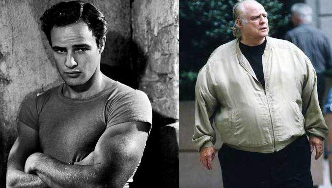 Marlon Brando 1951 vs Marlon Brando 2003