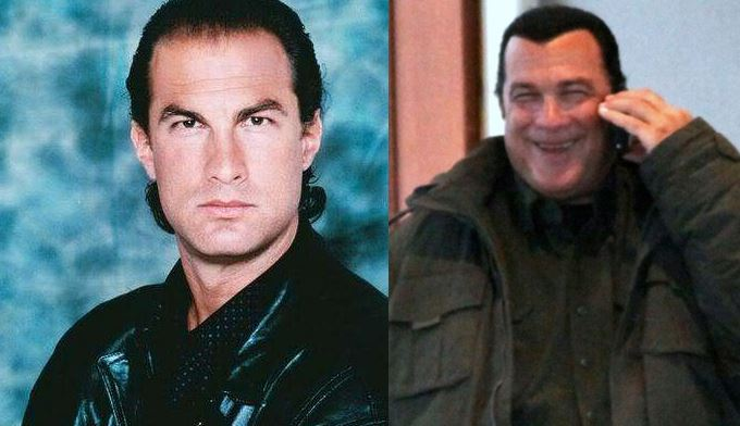 Steven Seagal 1990 vs Steven Seagal 2013