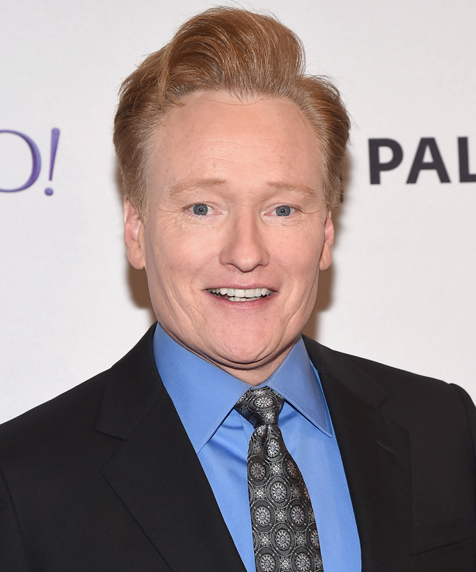 Conan O'Brien Conan tall actors
