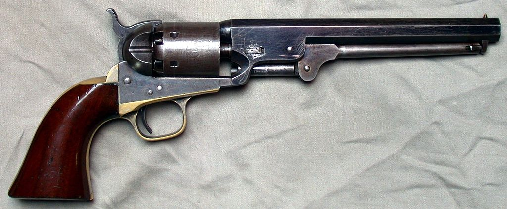 Weapons of Civil War Pistols