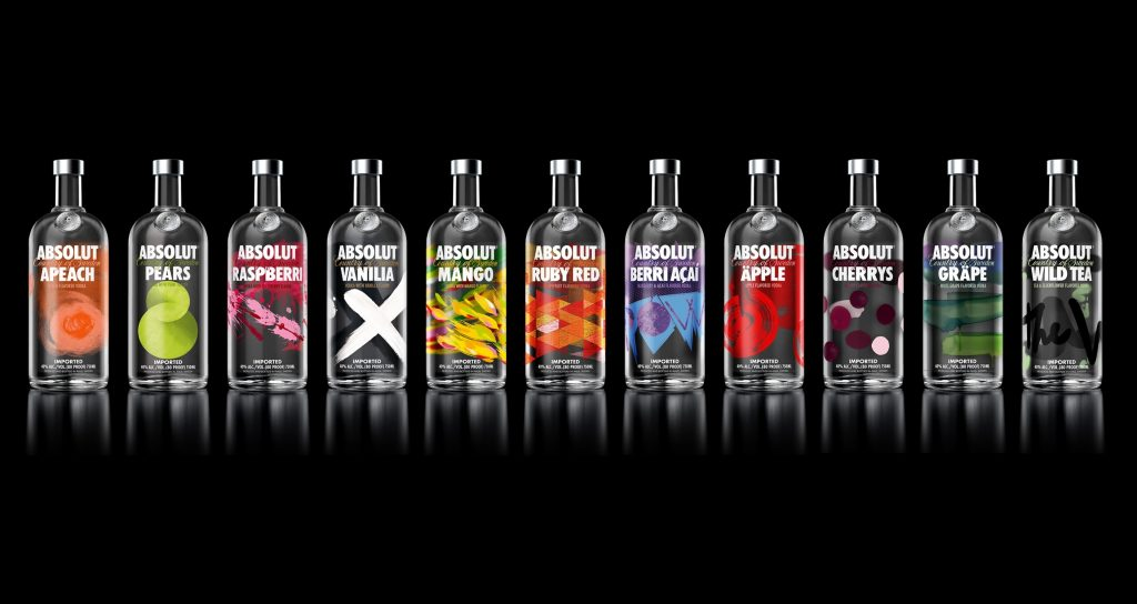 Absolut Vodka best vodka brands