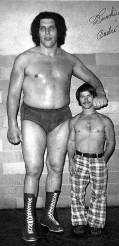 Andre The Giant tall actors