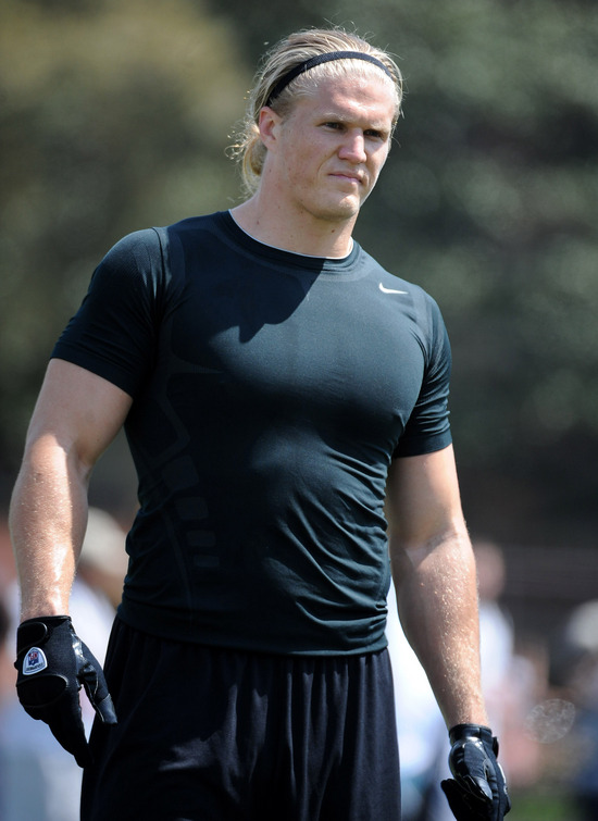 Apr 1, 2009; Los Angeles, CA, USA; Southern California Trojans cornerback Clay Matthews at Pro Day at Cromwell Field. (Newscom TagID: iosphotos058535) [Photo via Newscom]