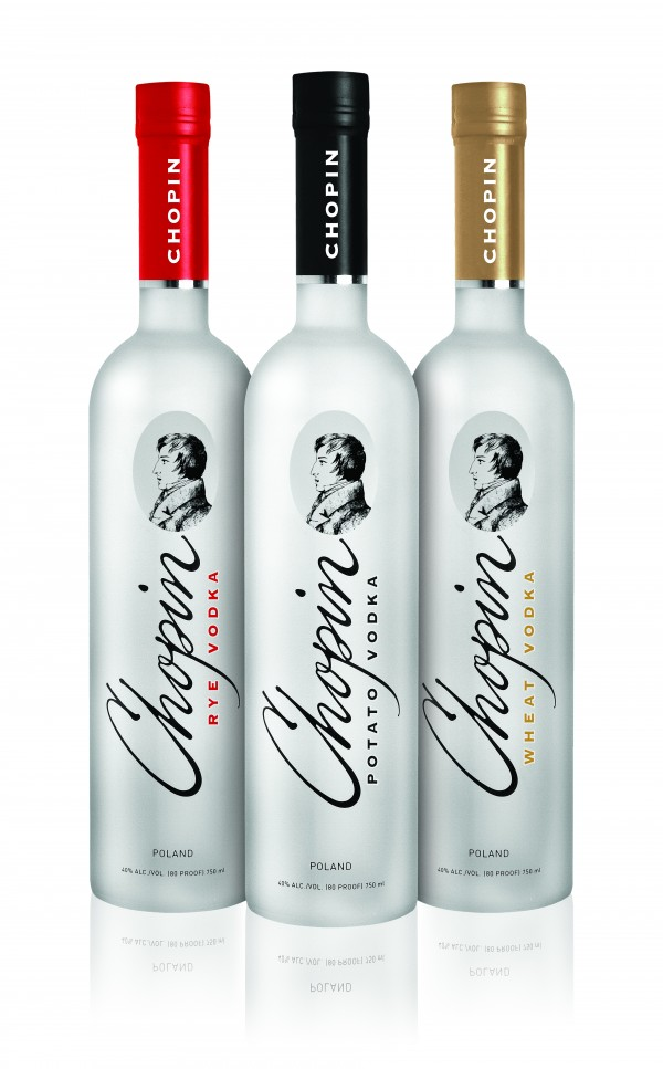 Chopin brands of vodka