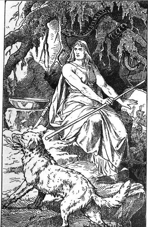 Norse mythology names