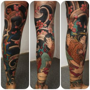 Japanese-Leg-Tattoo-Design-1