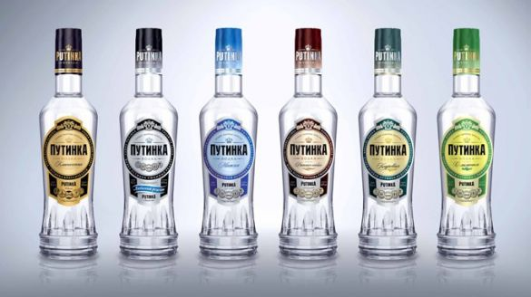 Putinka brands of vodka