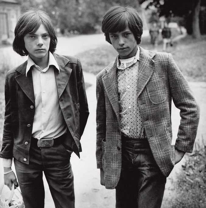 old scool Teens in Soviet Lithuania - 1979