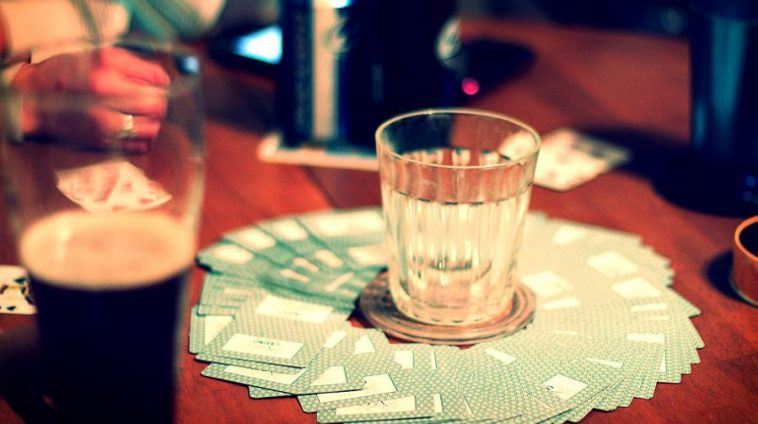 best card drinking games worced
