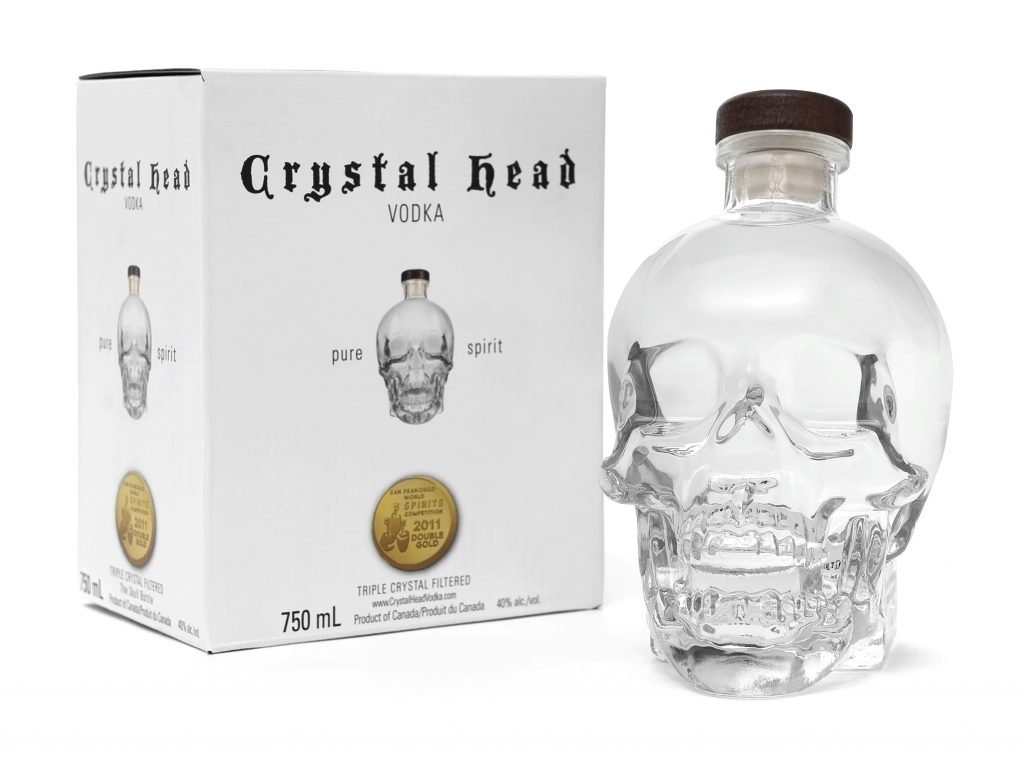 Crystal Head Vodka brands of vodka