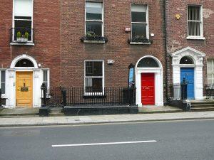 ireland's door