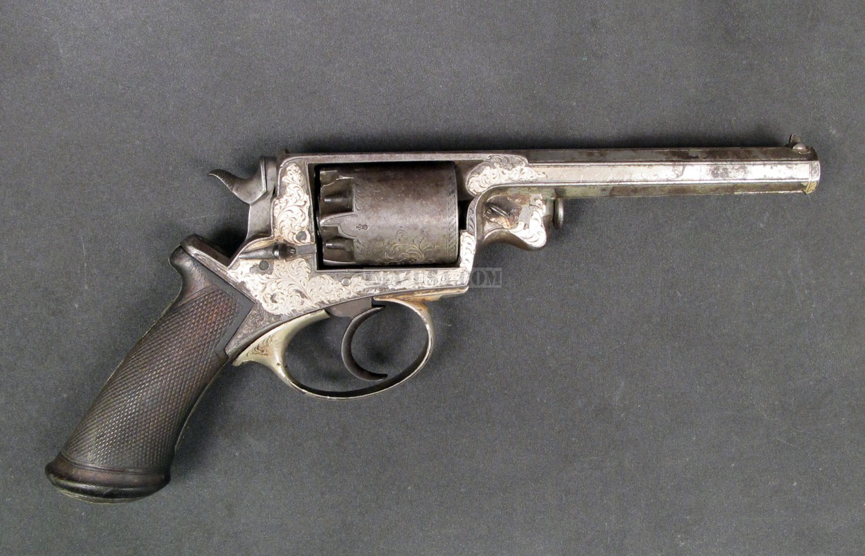 Weapons of Civil War Adams Revolver