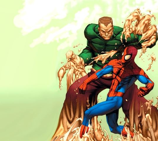 spiderman villains Sandman